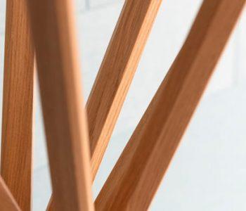 Wooden outdoor furniture legs brown